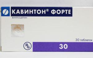 Кавинтон Форте таблетки