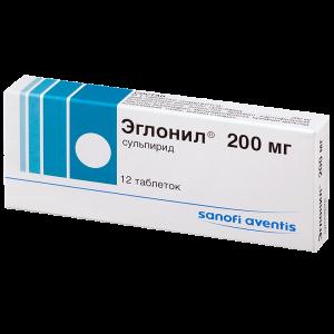 эглонил таблетки