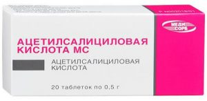парацетамол и ацетилсалициловая кислота