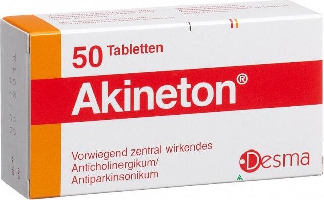 Акинетон: инструкция по применению таблеток и раствора