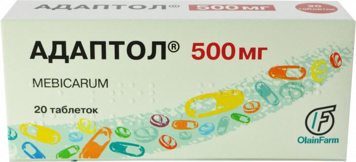 Адаптол: инструкция по применению таблеток и капсул