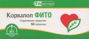 корвалол фито таблетки