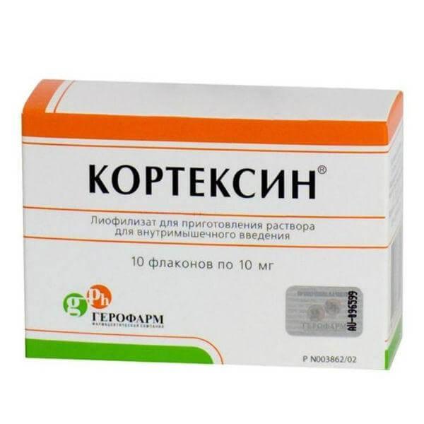 Кортексин: инструкция по применению лиофилизата