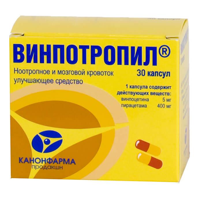Винпотропил: инструкция по применению таблеток