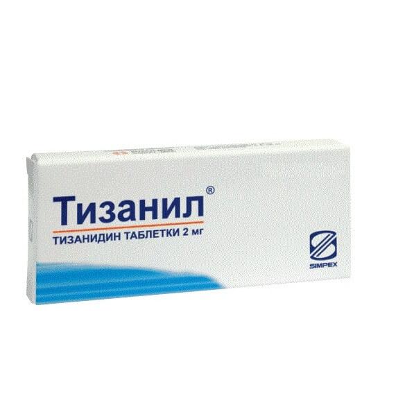 Тизанил: инструкция по применению таблеток