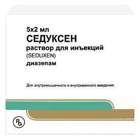 Седуксен: инструкция по применению таблеток и раствора