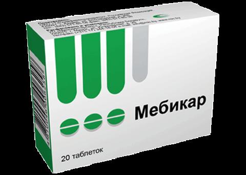Мебикар: инструкция по применению таблеток