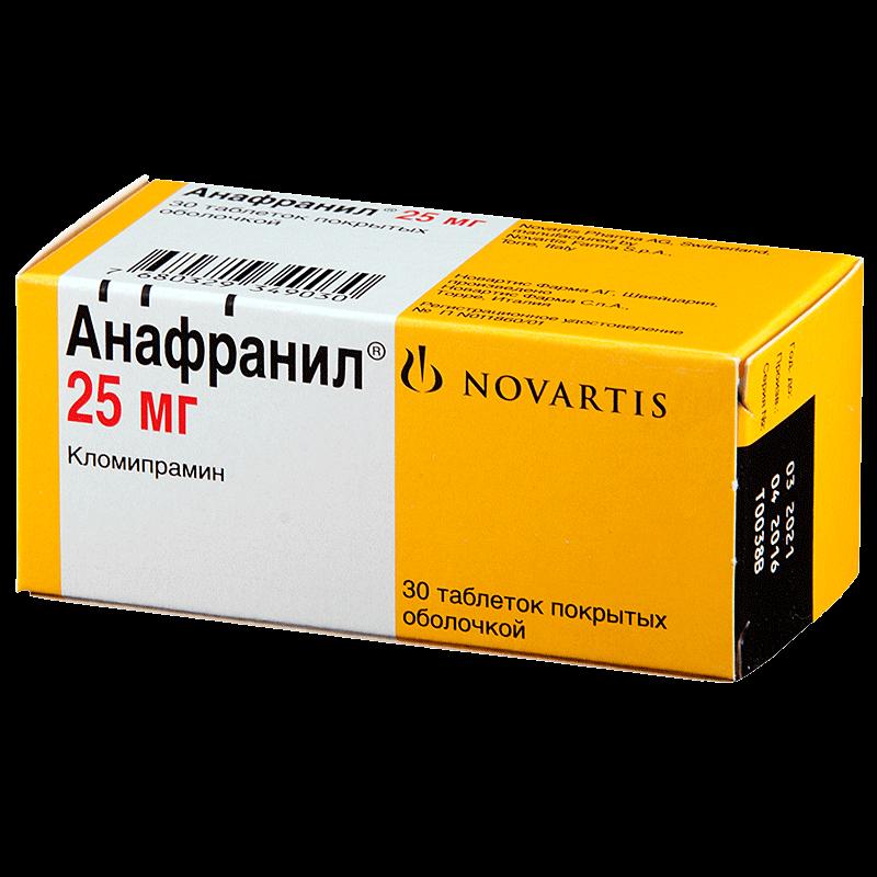 Анафранил: инструкция по применению таблеток и раствора
