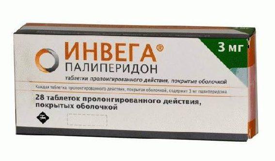 Инвега: инструкция по применению таблеток
