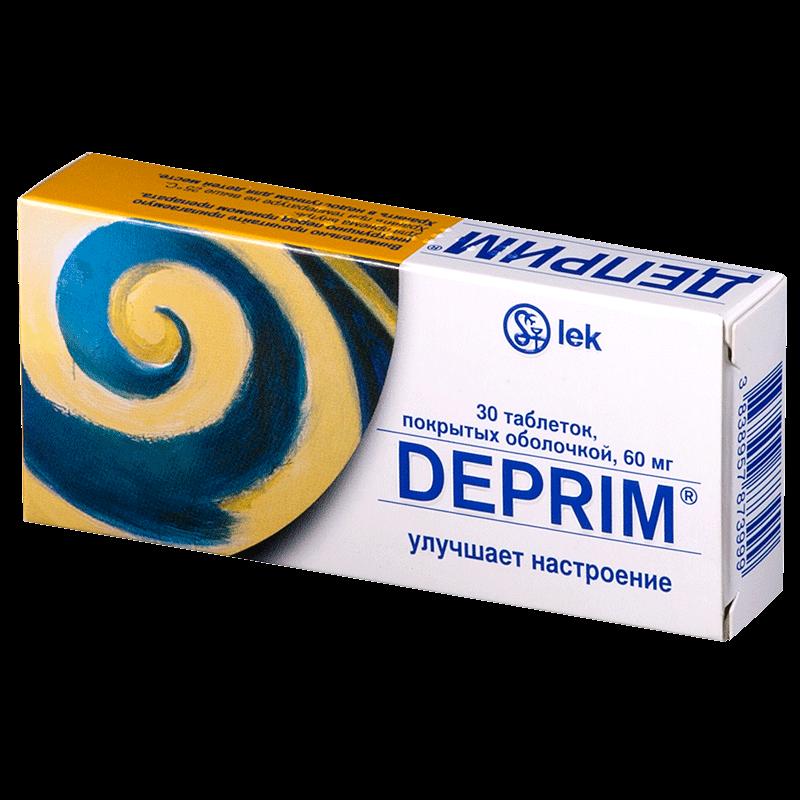 Деприм: инструкция по применению таблеток