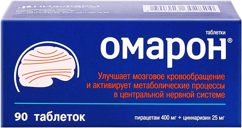 Омарон: инструкция по применению таблеток