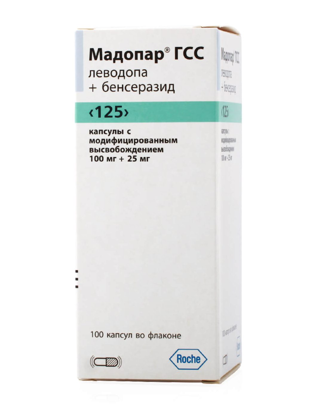 Мадопар ГСС 125: инструкция по применению капсул