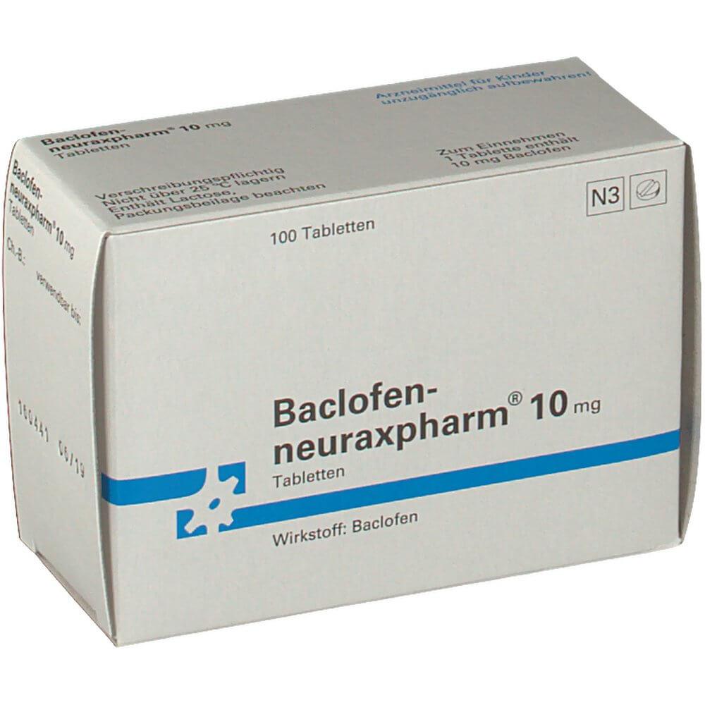 Баклофен: инструкция по применению таблеток