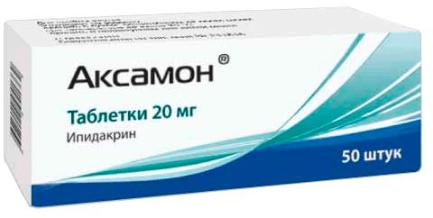 Аксамон: инструкция по применению таблеток и раствора