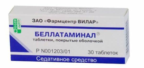 Беллатаминал: инструкция по применению таблетки