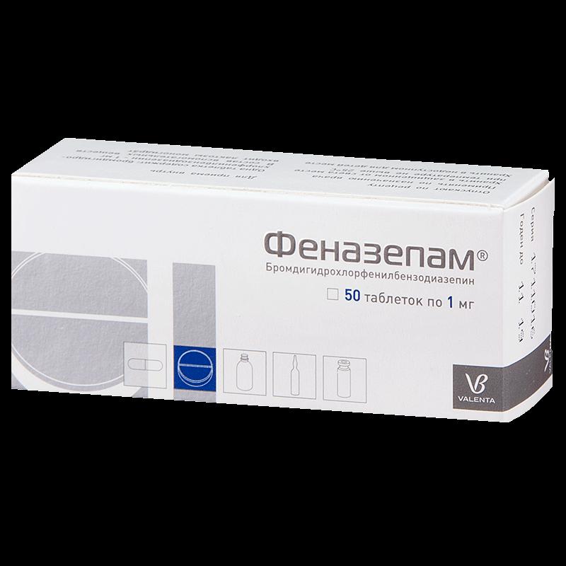 Феназепам: инструкция по применению таблеток и раствора