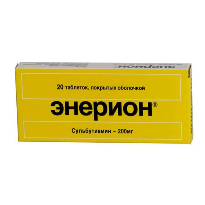 Энерион: инструкция по применению таблеток