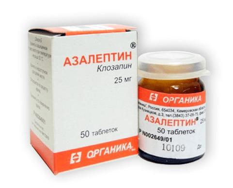Азалептин: инструкция по применению таблеток