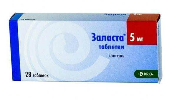 Заласта: инструкция по применению таблеток