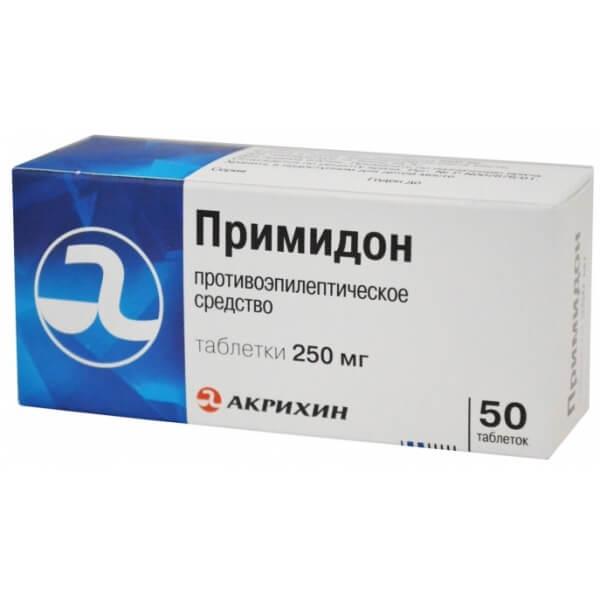 Примидон: инструкция по применению таблеток