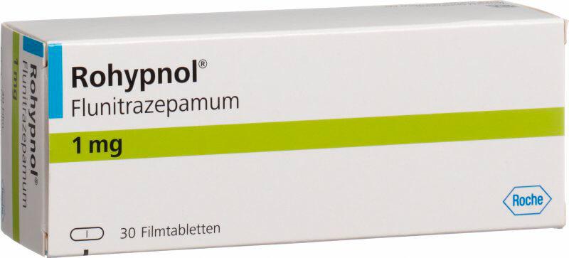 Рогипнол: инструкция по применению таблеток и раствора