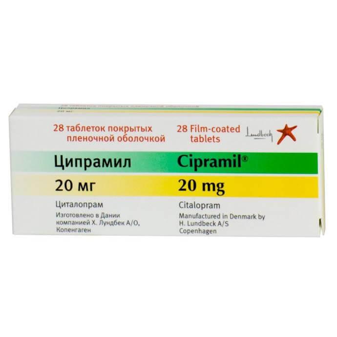 Ципрамил: инструкция по применению таблеток