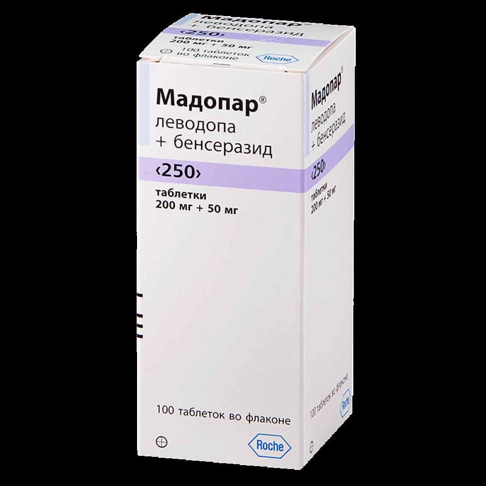 Мадопар: инструкция по применению капсул и таблеток