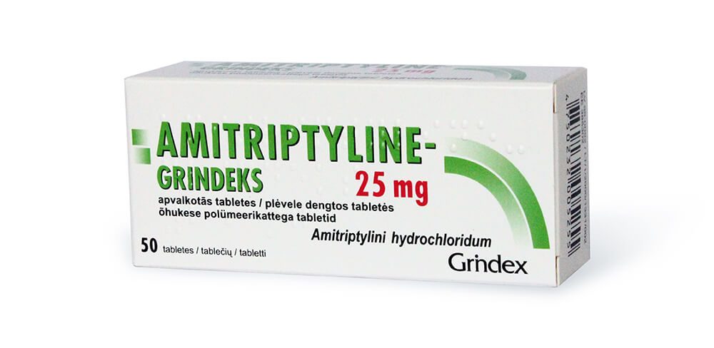 Амитриптилин Гриндекс: инструкция по применению таблеток