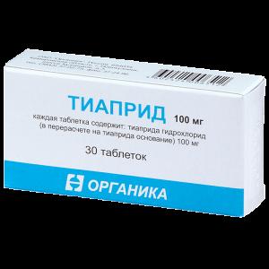 Тиаприд [раствор] цена в аптеках москвы, инструкция по применению.