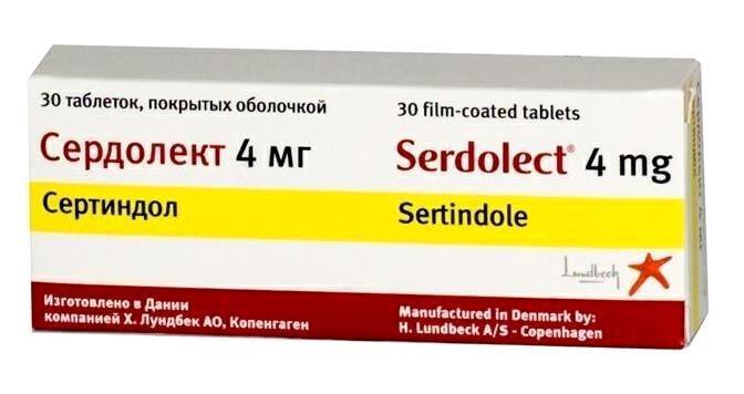 Сердолект: инструкция по применению таблеток