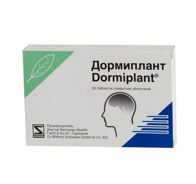Дормиплант: инструкция по применению таблеток