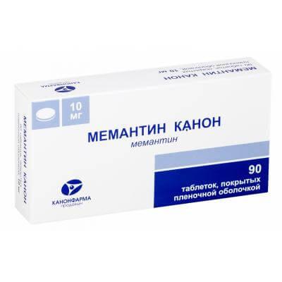 Мемантин Канон: инструкция по применению таблеток