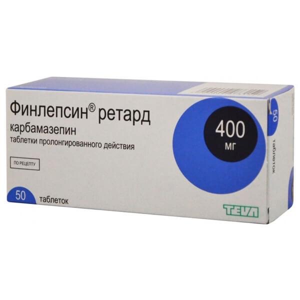 Финлепсин ретард 400: инструкция по применению таблеток