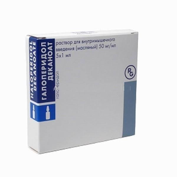 Галоперидол деканоат: инструкция по применению раствора