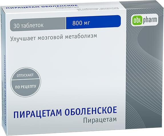 Пирацетам Оболенское: инструкция по применению таблеток