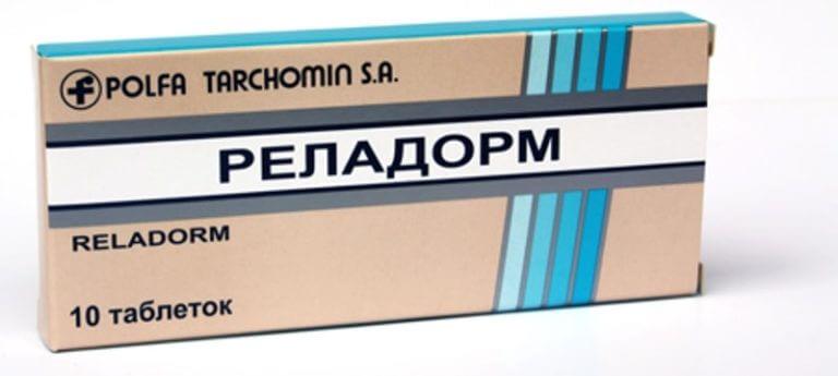 Реладорм: инструкция по применению таблеток