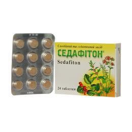Седафитон: инструкция по применению таблеток и капсул
