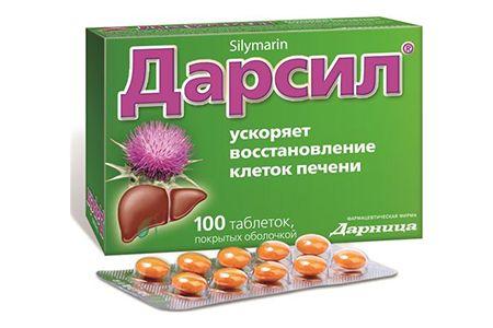 Дарсил: инструкция по применению таблеток