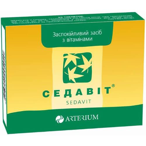 Седавит: инструкция по применению таблеток и раствора