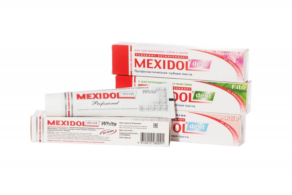 Мексидол Дент: инструкция по применению зубной пасты и ополаскивателя