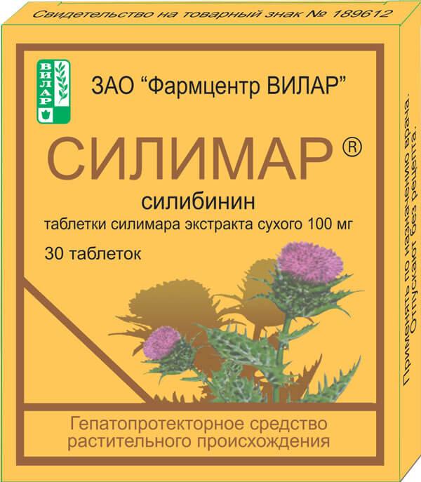 Силимар: инструкция по применению фитотаблеток