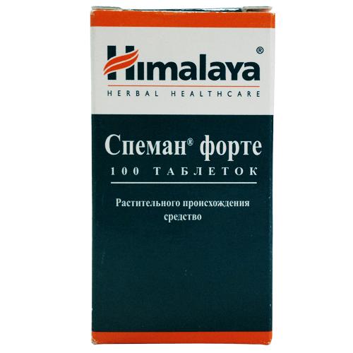 Спеман Форте: инструкция по применению таблеток