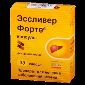 Эссливер и Эссливер Форте: аналоги препарата