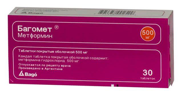 Багомет: инструкция по применению таблеток