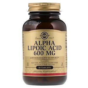 Альфа-Липоевая кислота Солгар: инструкция по применению таблеток и капсул