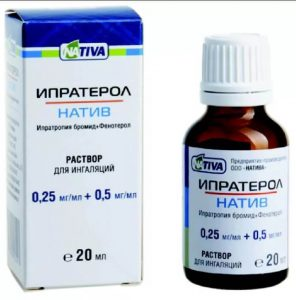 Ипратропий-сальбутамол-тева