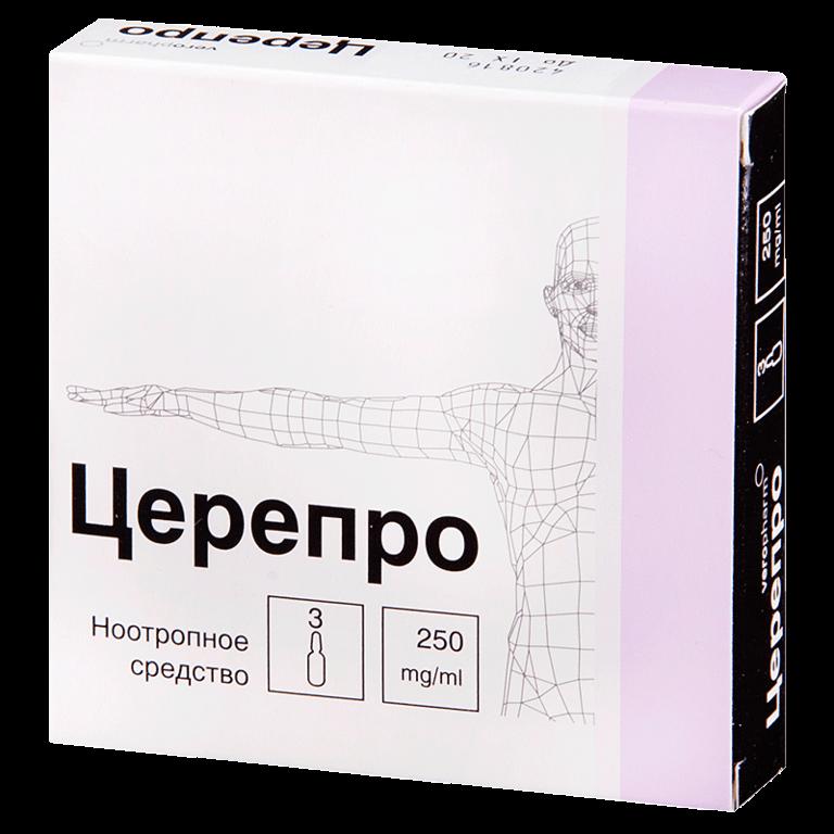 Церепро: инструкция по использованию ноотропа