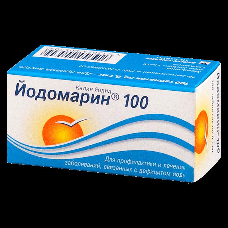 Йодомарин: инструкция по применению таблеток