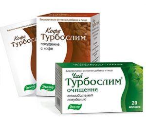 Кофе и чай Турбослим