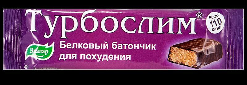 Батончик Турбослим: инструкция по применению